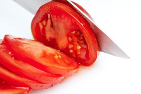 Tomaten schneiden: So geht's