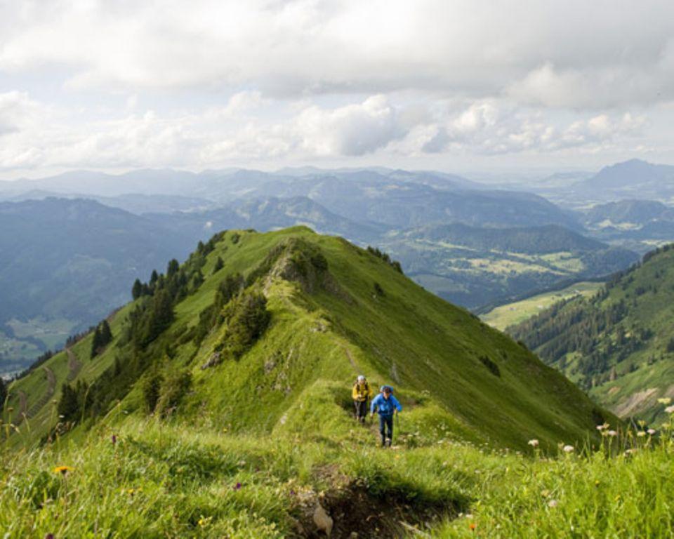 Hoch hinaus: Wandertouren in Europa