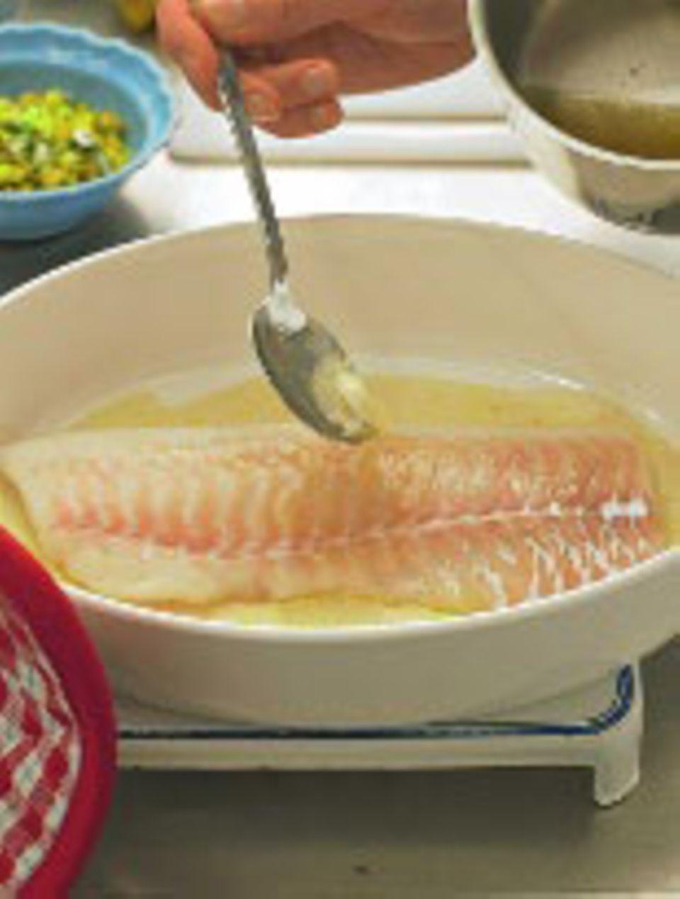 Fisch garen