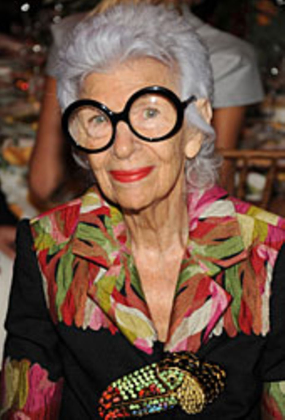 Iris Apfel, Stilikone aus New York.