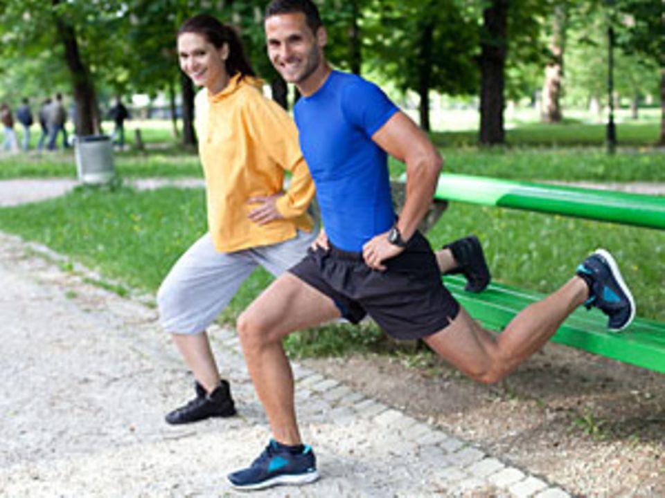 Er gehört zu mir: Mein Personal-Fitness-Trainer