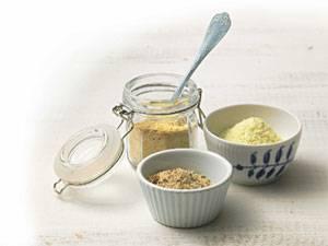 Küchentipps: Erdmandelflocken, Hefeflocken, Kartoffelpüreeflocken