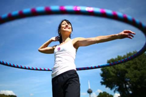Hula-Hoop-Training: Dreh Dich!