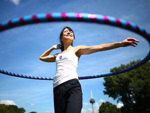 Workout: Hula-Hoop-Training: Dreh Dich!