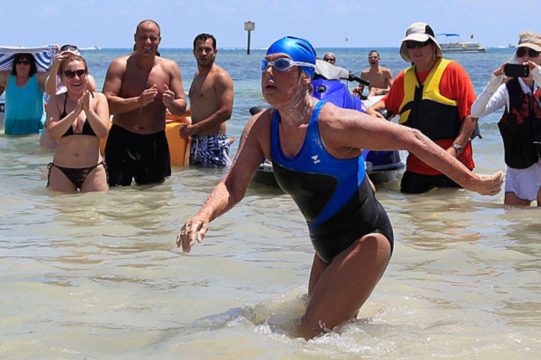 Diana Nyad: Schwimmend zum Lebenstraum