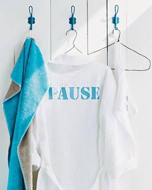 DIY-Ideen: Bademantel bedrucken: Kleidungsstück mit Aussage
