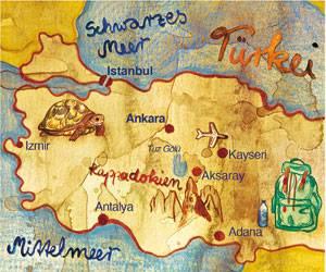 Türkei: Wandern in Kappadokien