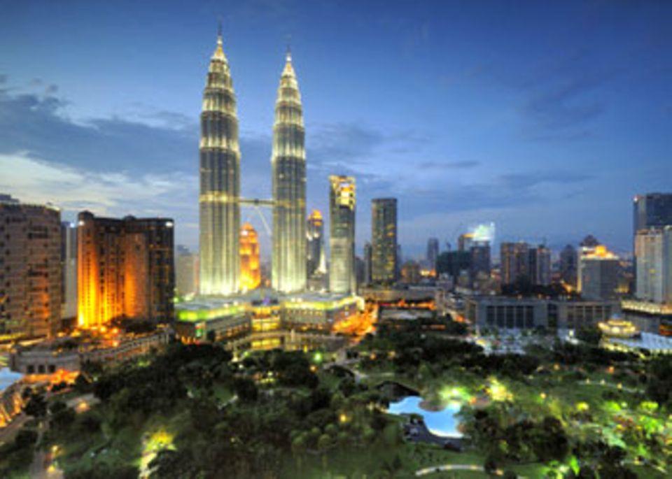 Backpacking: Kuala Lumpur: Modern und chaotisch