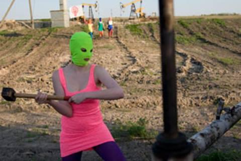 Neues Video von Pussy Riot: Mit Punk gegen Putin