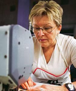 Sina Trinkwalder: Marianne Hoffmann hat früher im Akkord genäht