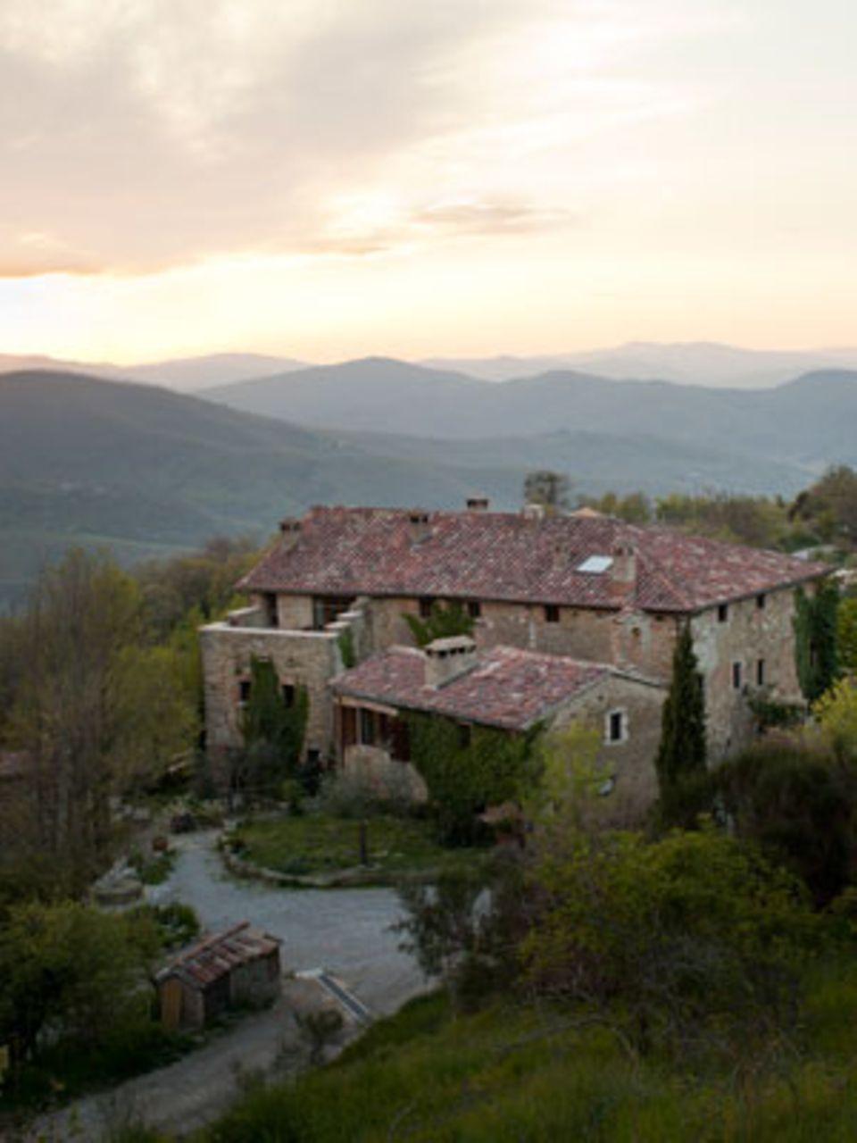 Eingebettet in die Hügel Umbriens: Das Landgut Monestevole