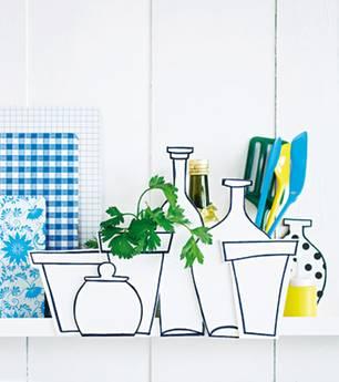 Ideen zum Selbermachen: Küchen-Deko: Hübsches Versteck für ...