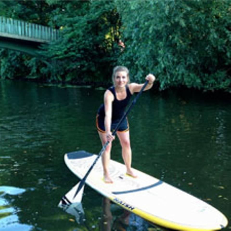 Stand Up Paddling: Spazieren auf dem Wasser