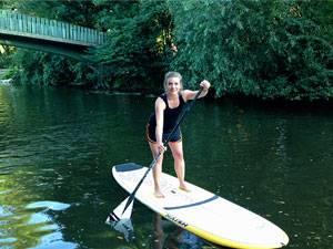 Wassersport: Stand Up Paddling: Spazieren auf dem Wasser