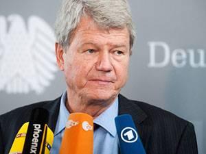 NSU: Wolfgang Wieland ist Obmann der Grünen im NSU-Untersuchungsausschuss im Bundestag und Mitglied im Innenausschuss. Er besuchte am Dienstag den Münchner NSU-Prozess.