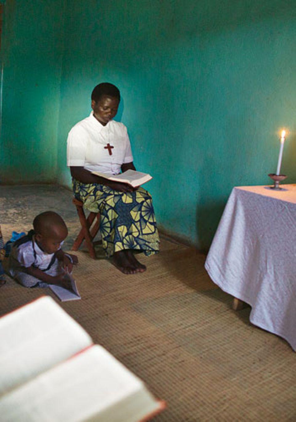 Donatila: Morgengebet um 4.30 Uhr
