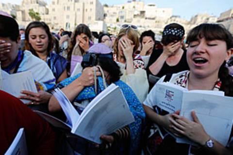 Frauen an der Klagemauer: Kampf für Gleichberechtigung