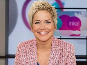 Neue Talkshow im ZDF: Will den Nachmittag im ZDF aufpeppen: Moderatorin Inka Bause