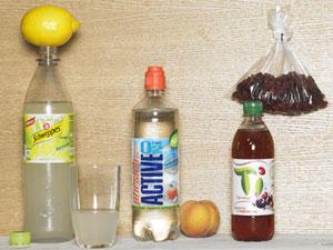 Erfrischungsgetränke - was haben die drauf?