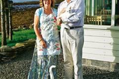 Helen und Derek Hiscoke betreiben ein B&B auf der Insel Hoy; der Glaube führte das Londoner Paar hierher.