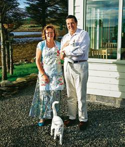 Großbritannien: Helen und Derek Hiscoke betreiben ein B&B auf der Insel Hoy; der Glaube führte das Londoner Paar hierher.