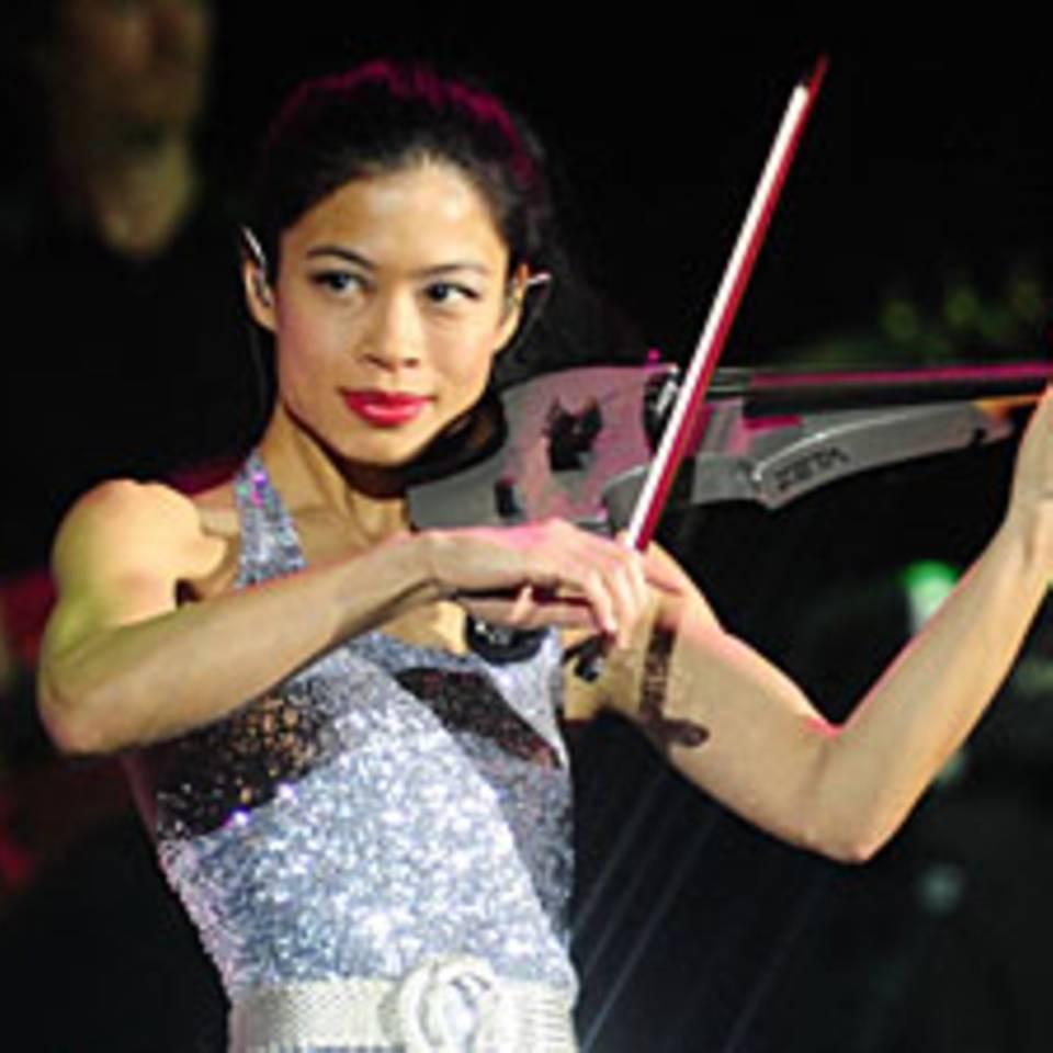 Olympische Winterspiele: Musikerin Vanessa Mae fährt jetzt Ski