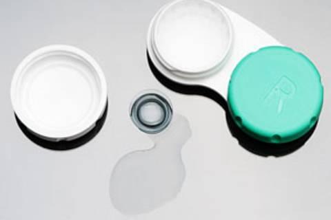 Kontaktlinsen richtig pflegen