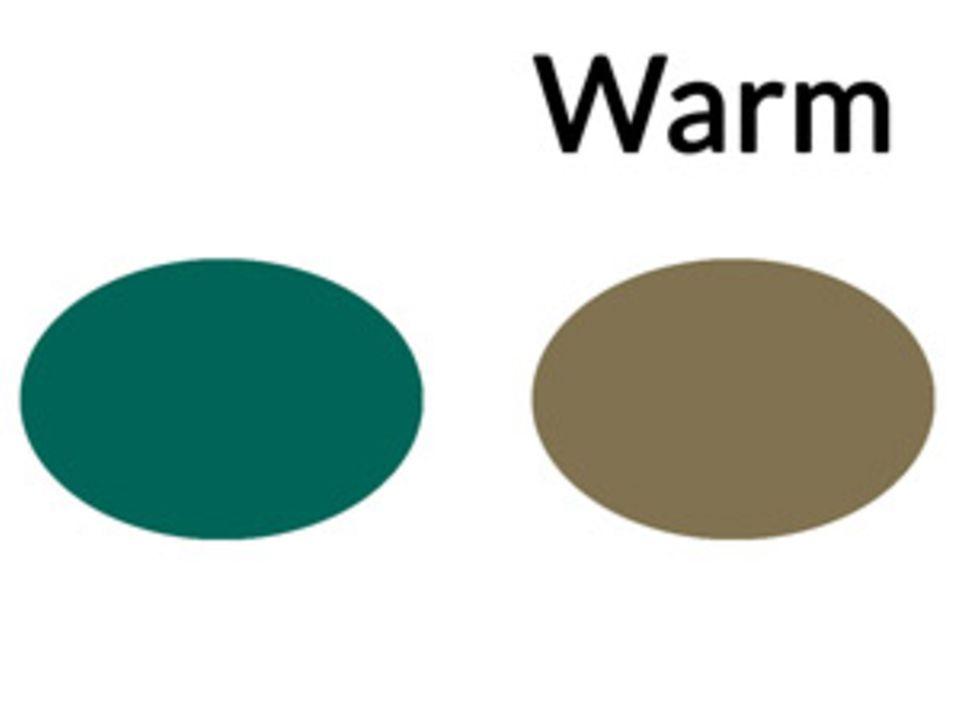 In dieser Farbwelt bewegt sich der Unterton deiner Haut. Diese Töne eignen sich außerdem für dein Augen-Make-up oder Outfit.