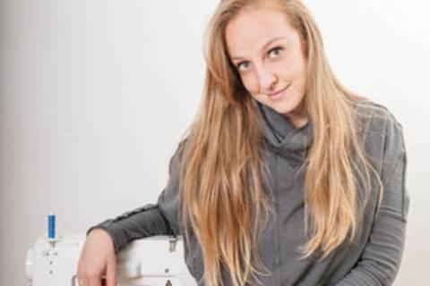 Die Wienerin Nunu Kaller hat ein Jahr lang genäht und gestrickt statt gekauft.