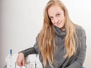 Interview: Die Wienerin Nunu Kaller hat ein Jahr lang genäht und gestrickt statt gekauft.