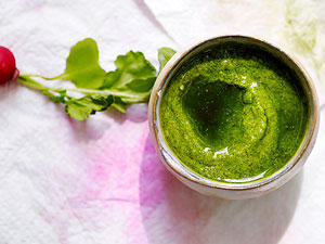 Kochen ohne Reste: Wie schmecken Radieschenblätter?