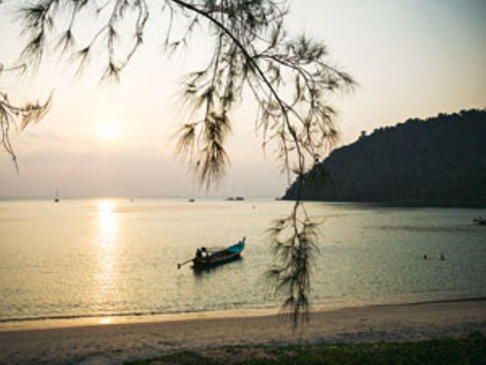 Riesen-Pool: Auf Ko Chang ist die Andamanensee genau richtig zum Plantschen