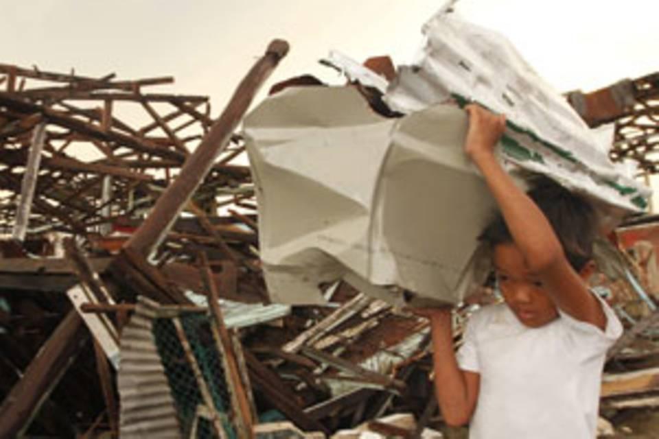 """Nach dem Taifun: """"Die Menschen sind zuversichtlich"""""""