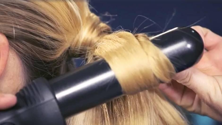 Brigitte Video Frisuren Tutorial Raffinierter Pferdeschwanz