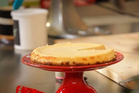 Cheesecake mit Spekulatiusboden: Gefährlich gut!