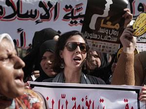 Gleichberechtigung: Als die Diktatoren in Tunesien, Ägypten und Libyen gestürzt wurden, kämpften auch viele Frauen für Demokratie - und Frauenrechte