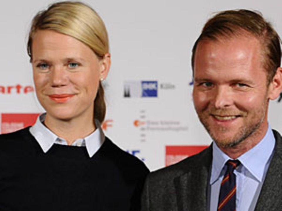 Frauke Finsterwalder mit Ehemann Christian Kracht