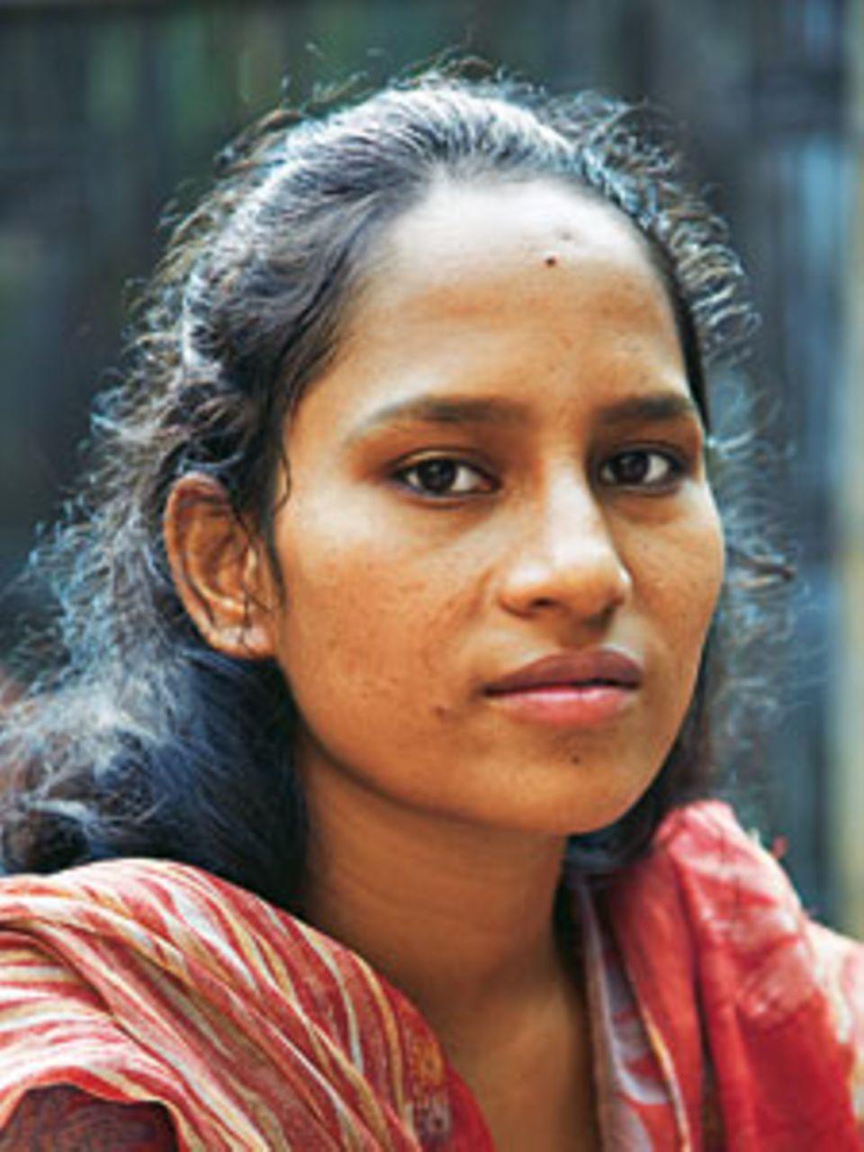 Shiren Akther sollte mit 13 ihren Cousin heiraten, die Kinder retteten sie. Jetzt ist sie selbst Aktivistin.