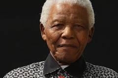 Nelson Mandela, der afrikanische Supermann