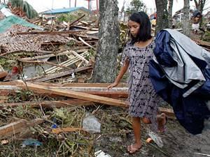 Taifun Haiyan: keine Bildunterschrift