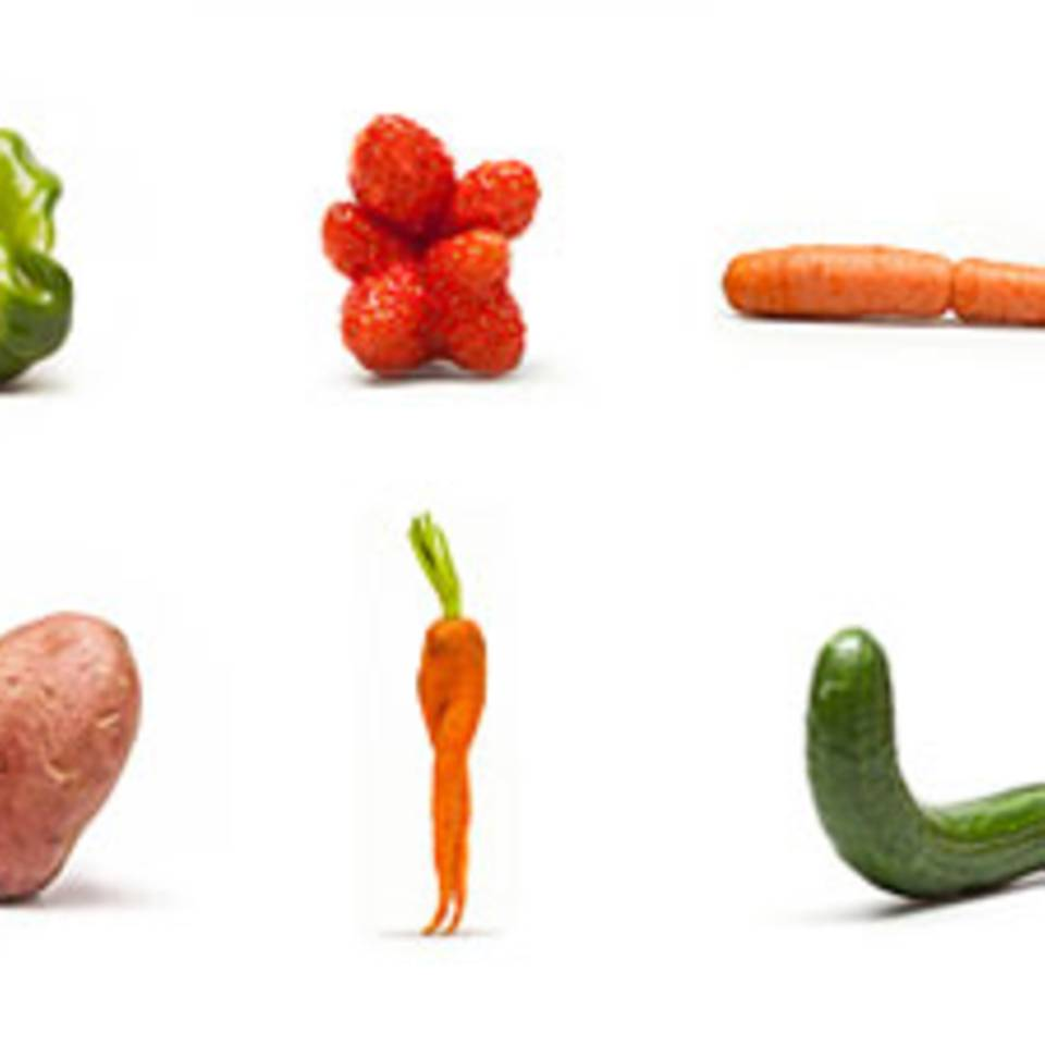 Krumme Gurken: Kauft Gemüse mit Charakter!
