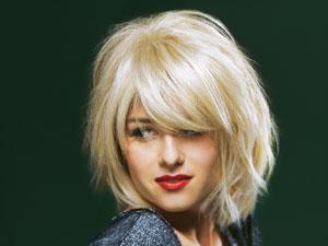 Frisuren rundes gesicht schulterlanges haar