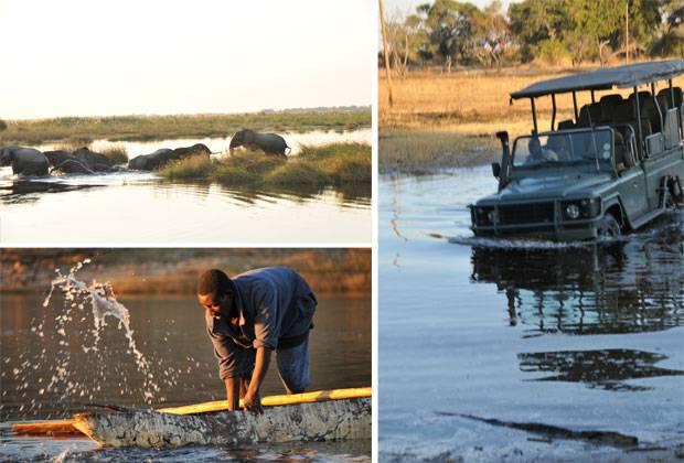 Afrika: Schon lange haben die Flüsse nicht mehr den Fischreichtum wie einst, aber noch immer findet der Fischfang von Einbaumbooten aus statt.