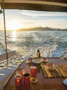 Bootsausflug mit dem Llaüt