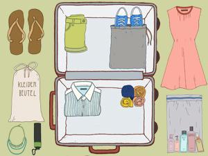 Kofferpacken - die wichtigsten Tipps