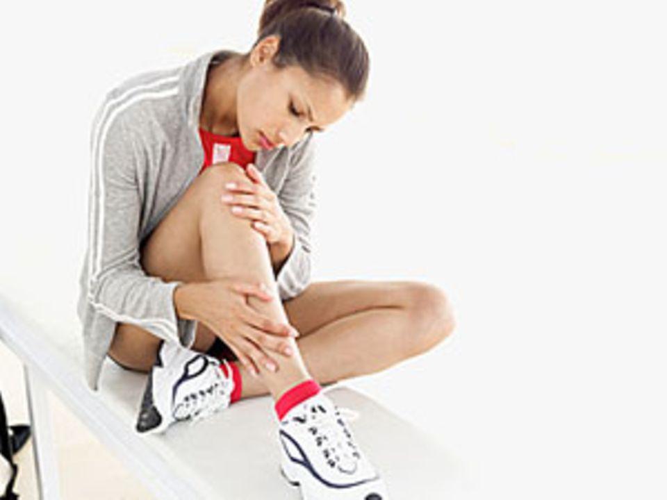 Sportverletzungen - das können Sie tun