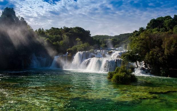 Kroatien: Im Krka-Nationalpark rauscht und braust es