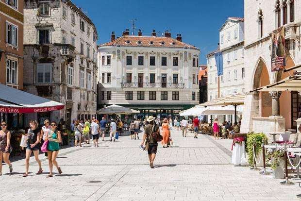 Kroatien: Split kann es mit Cannes aufnehmen