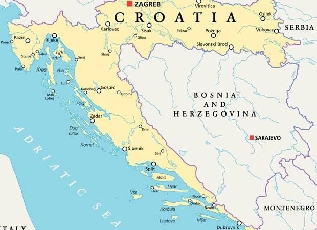 Kroatien: Immer an der Küste entlang ...