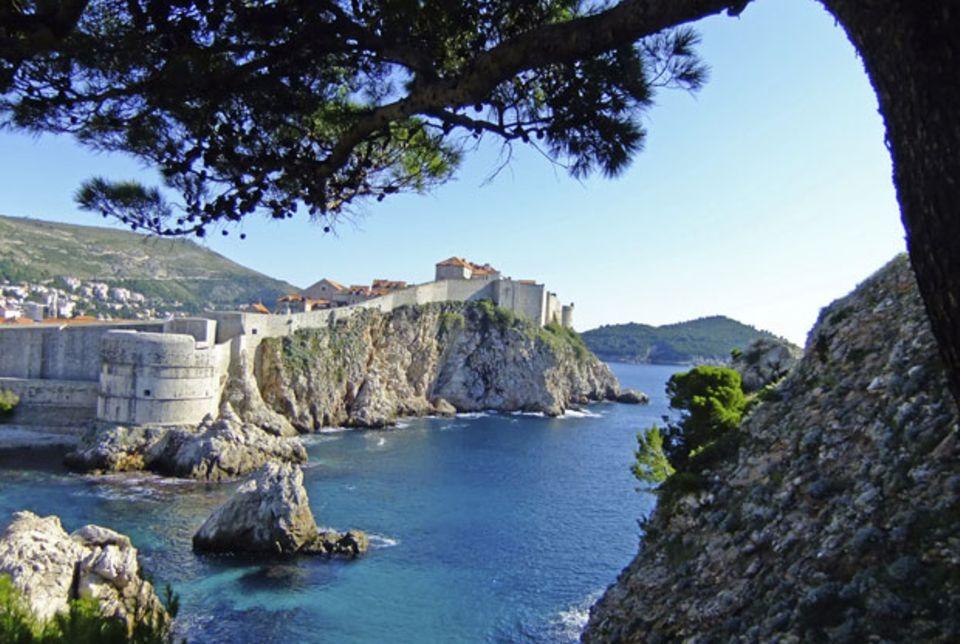 Dubrovnik sonnt sich in Geschichte
